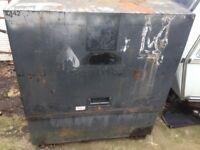 Steel tool safe