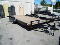 2014 Snake River 18' Competitor Car trailer