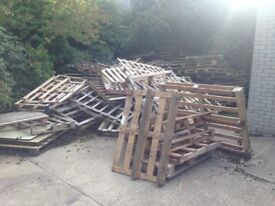 FREE PALLETS FOR USING IN A LOG BURNER/ FIRE