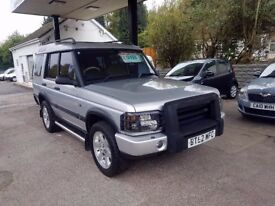 Land Rover Discovery 2 2.5 TD5 GS Station Wagon 5dr (7 Seats) CREAM LEATHER, DVD, TOP SPECIFIC!!!