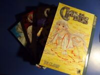 Chobits manga 1 to 4 by Clamp