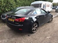 LEXUS IS 220D STARTS AND DRIVES SPARES OR REPAIR