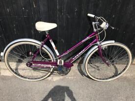 Vendec Atlantic Vintage Ladies Town Bike. Beautiful, Serviced, Free Lock, Lights, Delivery.