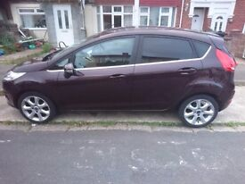 Ford Fiesta Titanium ,1.4 eng, 2010, low mileage,great condition,2 owners since new