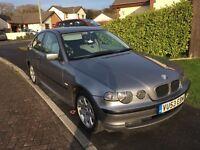 BMW 316 ti compact 1.8 litre FSH