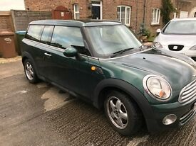 Mini Clubman Cooper D - British Racing Green 1.6 - VGC - For Sale £4345 - Open To Offers