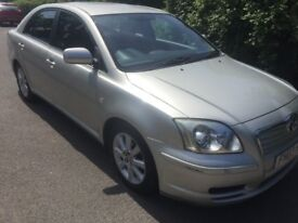 03 TOYOTA AVENSIS 1.8 LITRE PETROL 5 DOOR HATCHBACK VERY NICE AUTOMATIC SERVICE HISTORY TIDY CAR