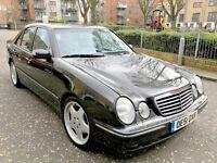 mercedes e430 v8 avantgarde auto 2001 275 bhp amg alloys sat nav top spec