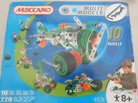 Meccano Multi Model Set, 220 Piece Meccano Set