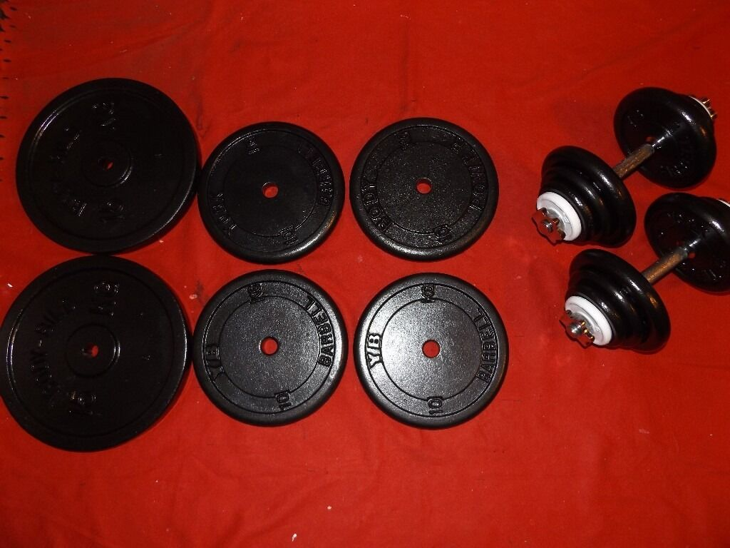 Over 100 kg standard cast iron weights
