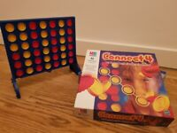 Connect 4, Chess and Draughts and Guess Who board games