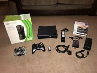 *Xbox 360 - 250GB - 2 Controllers - 10 Games - Boxed*