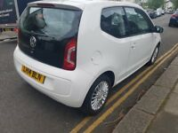 2014 VW UP! 1.0 High up! ASG, AUTOMATIC, SATELLITE NAVIGATION, MOT 16/05/2019, Cheap to run