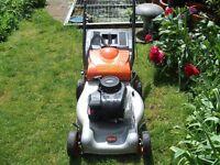 Flymo Quicksilver Petrol Mower, (full working order)