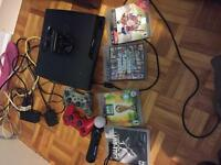 PS3 +bo2+ Gta5 +Fifa 15 +Fifa world cup14