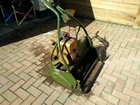 """Webb. 24"""" groundkeepers self propelled 4.5 hp mower runs and cuts grass"""