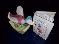 Border Fine Arts Beatrix Potter Jemima Puddleduck Money Box