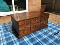 Coffee Table and Storage Trunk, Gatsby Range