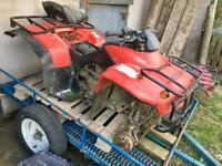 2 x Honda 250 quad bikes (spares or repairs)