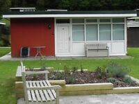 Chalet holiday home sale in beautiful West Wales location