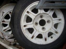 "peugeot 205 309 405 14"" alloy wheels"