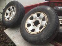 Mitsubishi l200 1996-2006 part worn tyres 205/60r16