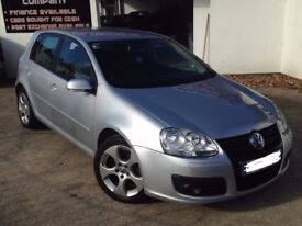 2008 VOLKSWAGEN GOLF 2.0TDI GT 5DR - FULL LEATHER - SERVICE HISTORY -