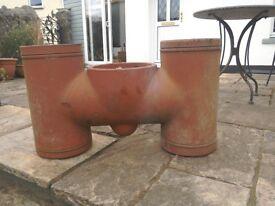 H chimney pot
