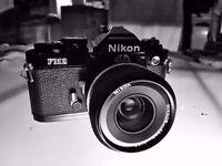 Classic Nikon FM2 35mm f 2.8