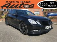 2010 MERCEDES E350 CDI SPORT AUTO ** SERVICE HISTORY * LOW RATE FINANCE AVAILABLE WITH NO DEPOSIT **