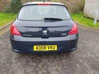 2008 Peugeot 308 1.6 HDi S 5dr Manual Low Mileage 30£RoadTax @07445775115 30£+TAX+Low+Miles+Warranty