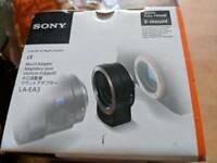 Sony LAE-AE3 adapter e mount to a mount