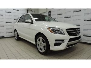 2014 Mercedes-Benz M-Class ML350 BlueTEC 4MATIC CERTIFIÉ