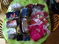 3-6 months girl clothes - over 50 items