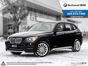 2013 BMW X1 28i Navigation Lights Executive Premium Package!