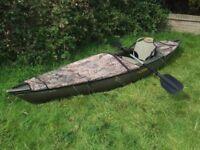 Kayak Native Watercraft Ultimate 12 carp pike lure fishing exploring