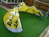 North 14m 5line rebel kite