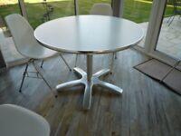 Aram Pedestal Dining Table