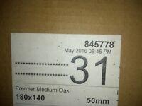 Wooden blind oak effect..Brand new in box