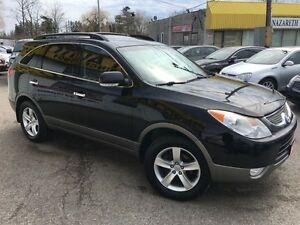 2010 Hyundai Veracruz Limited/AWD/7PASS/LEATHER/ROOF/DVD/ALLOYS