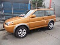 HONDA HR-V.....VTEC 4WD....1.6.CC......NICE CLEAN MPV..........£895....