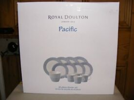 New/Boxed Royal Doulton Pacific Dinner Set