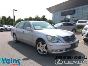 2005 Lexus LS 430 LEATHER/ROOF