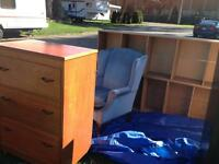 Free dressers, table, chairs