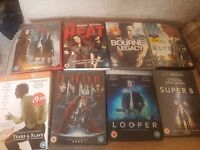 Dvds 50p each or £5 for all