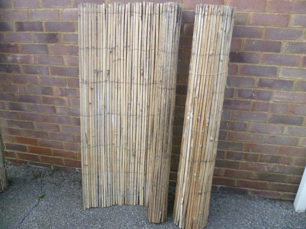Bamboo Fencing Slat Screening Split Cane Fence Garden