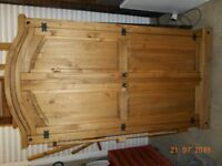 2 Mexican pine wardrobes