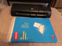 A4 Laminator and laminating sheets