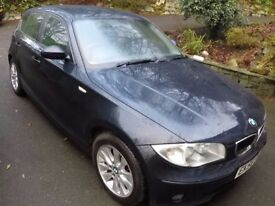 BMW 116i Mystic Blue '56 plate only 92000 miles!