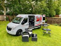VAUXHALL MOVANO SPORT LWB motorhome camper only 1 owner only 30k modern conversion STUNNING!